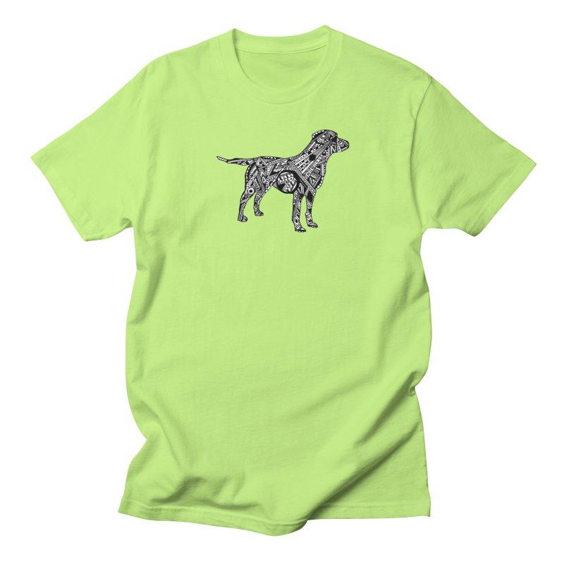 LABRADOR Men's Regular T-Shirt by designsbydana's Artist Shop