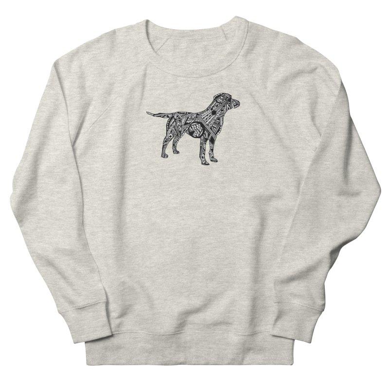 LABRADOR Men's French Terry Sweatshirt by designsbydana's Artist Shop