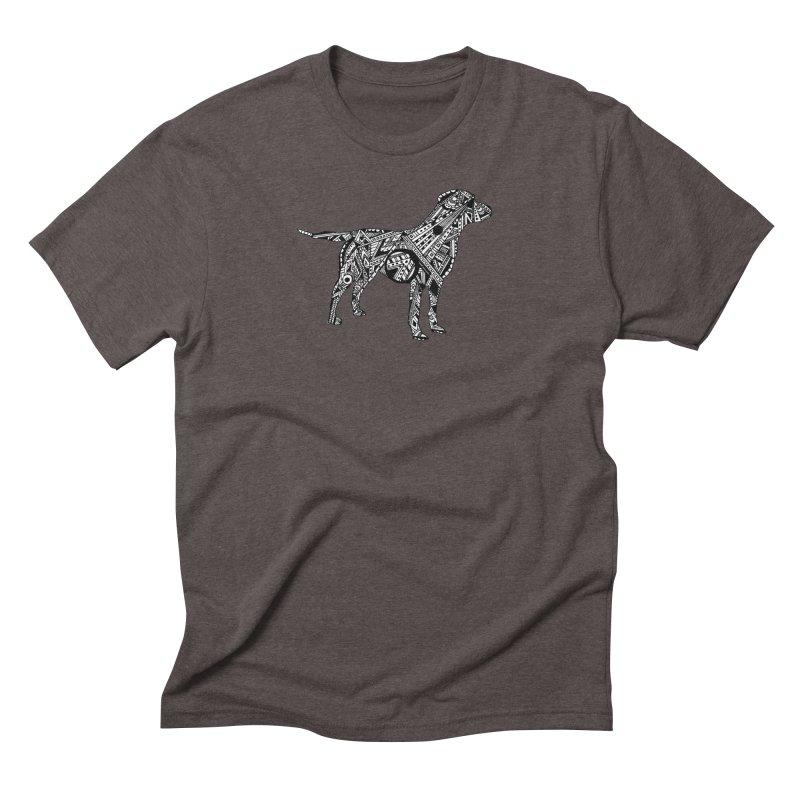 LABRADOR Men's Triblend T-Shirt by designsbydana's Artist Shop