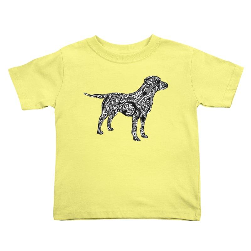 LABRADOR Kids Toddler T-Shirt by designsbydana's Artist Shop