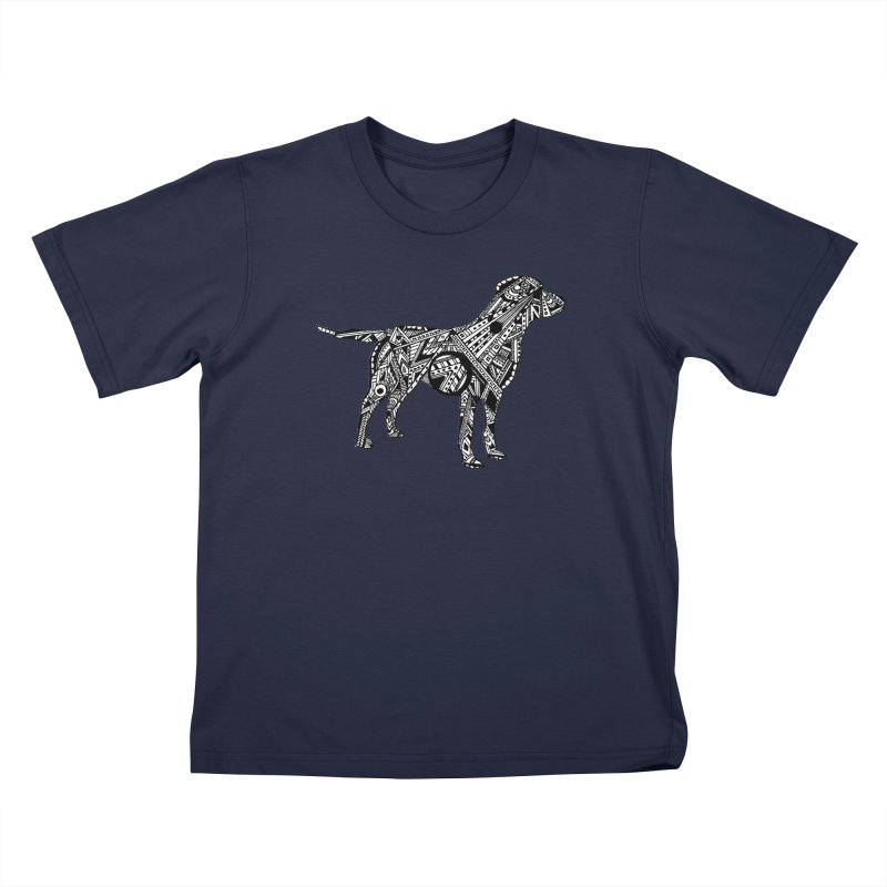 LABRADOR Kids T-Shirt by designsbydana's Artist Shop