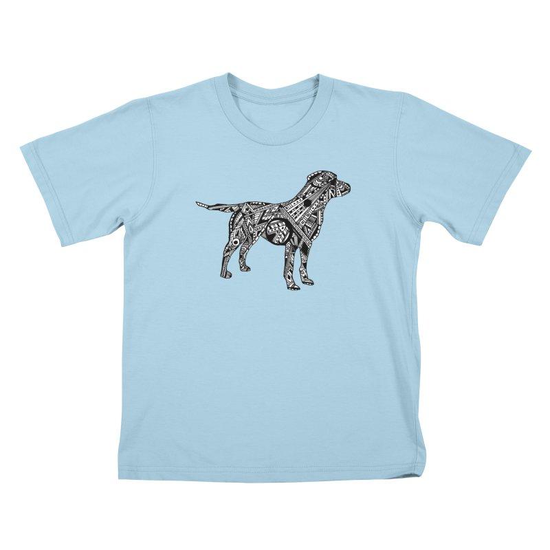 LABRADOR Kids T-Shirt by designsbydana's Artist Shop