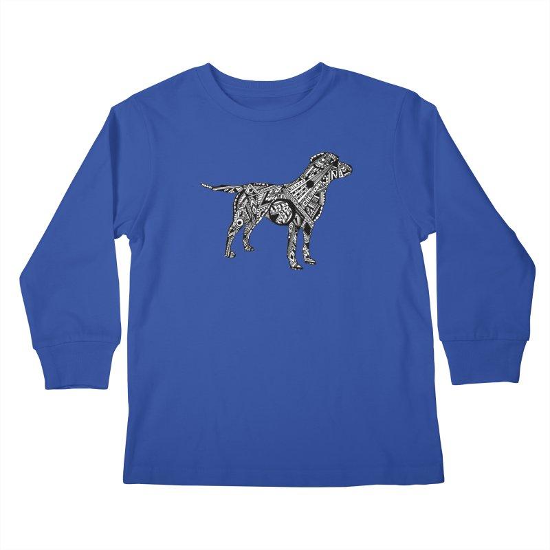 LABRADOR Kids Longsleeve T-Shirt by designsbydana's Artist Shop