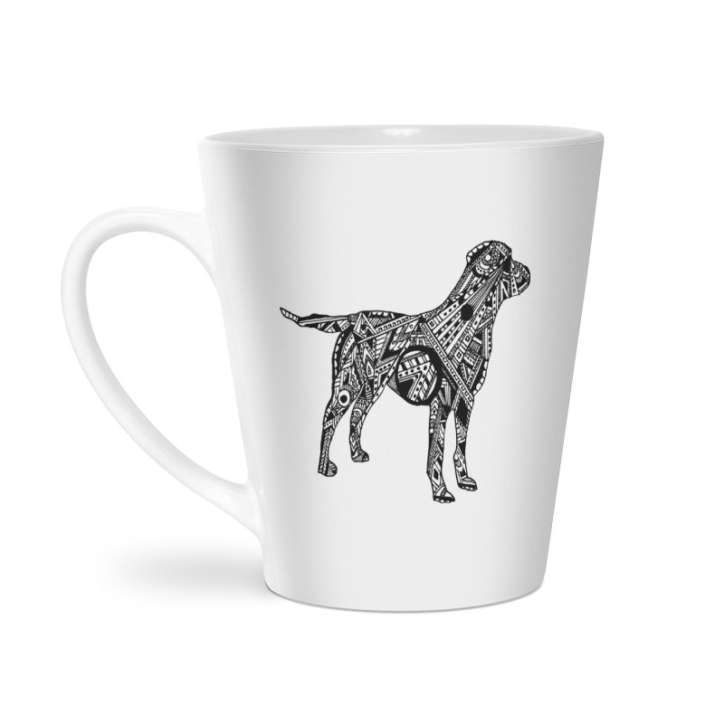 LABRADOR Accessories Latte Mug by designsbydana's Artist Shop