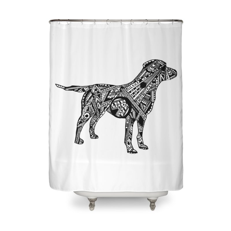 LABRADOR Home Shower Curtain by designsbydana's Artist Shop