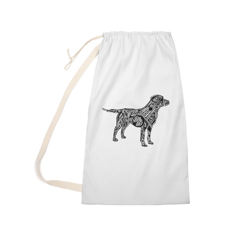 LABRADOR Accessories Laundry Bag Bag by designsbydana's Artist Shop