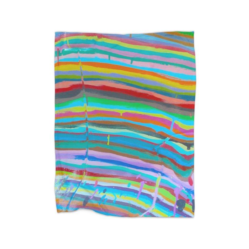 BRITE STRIPES Home Blanket by designsbydana's Artist Shop