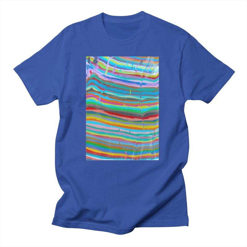 BRITE STRIPES Men's T-Shirt by designsbydana's Artist Shop