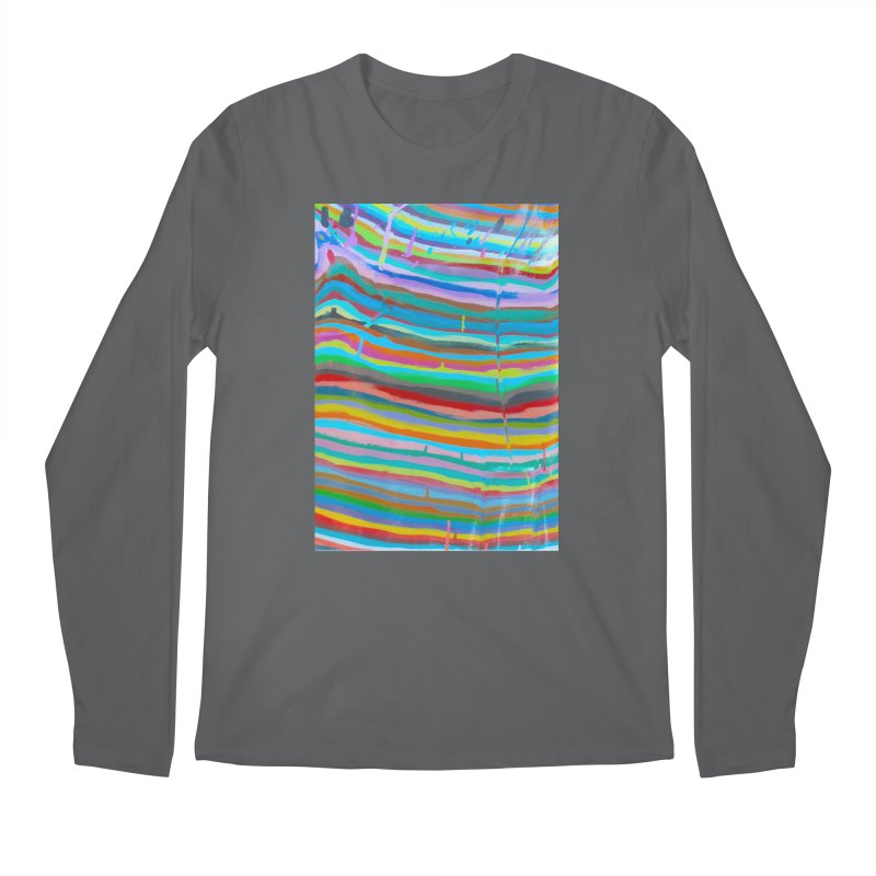 BRITE STRIPES Men's Regular Longsleeve T-Shirt by designsbydana's Artist Shop