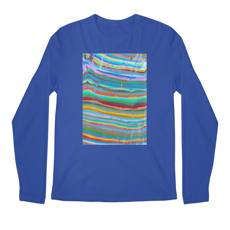 BRITE STRIPES Men's Regular Longsleeve T-Shirt by designsbydana's Artist Shop