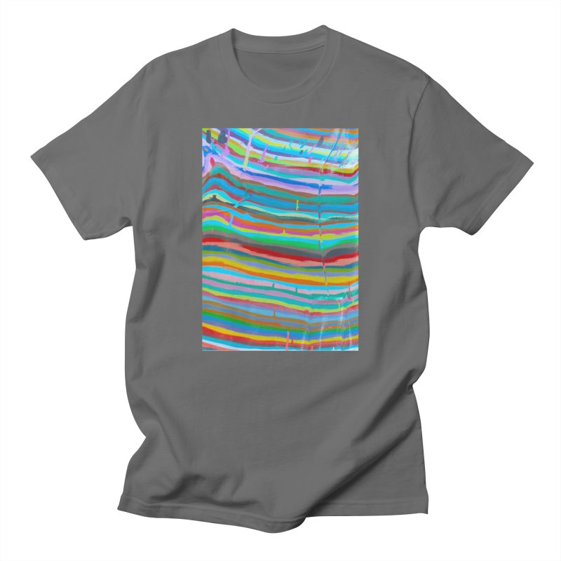 BRITE STRIPES Men's T-Shirt by designsbydana's Artist Shop