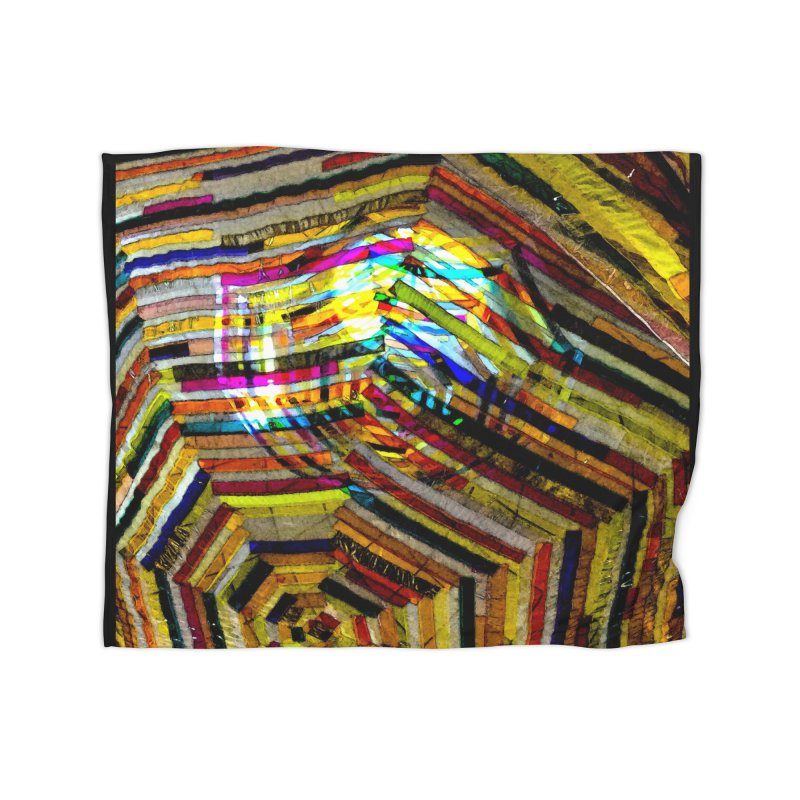 COLORS Home Fleece Blanket Blanket by designsbydana's Artist Shop