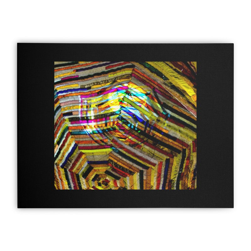 COLORS Home Stretched Canvas by designsbydana's Artist Shop