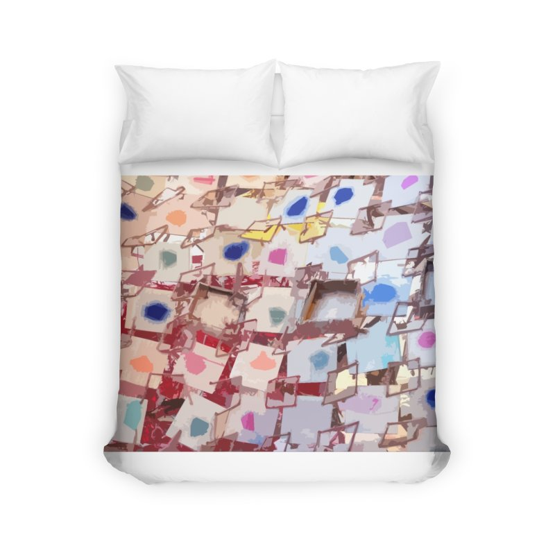 PATCHES Home Duvet by designsbydana's Artist Shop