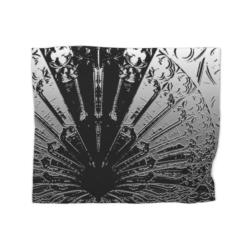 BLACK DECO Home Fleece Blanket Blanket by designsbydana's Artist Shop