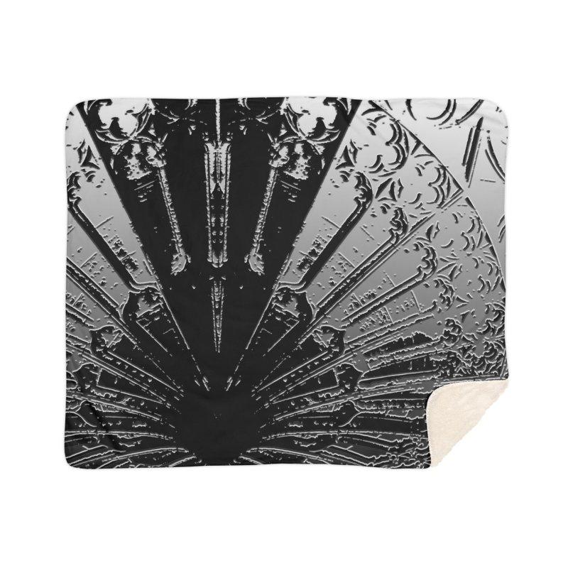 BLACK DECO Home Sherpa Blanket Blanket by designsbydana's Artist Shop