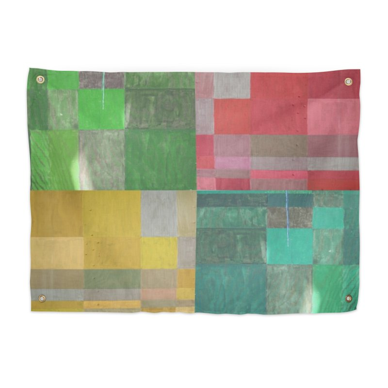 BRIGHT BLOCKS Home Tapestry by designsbydana's Artist Shop