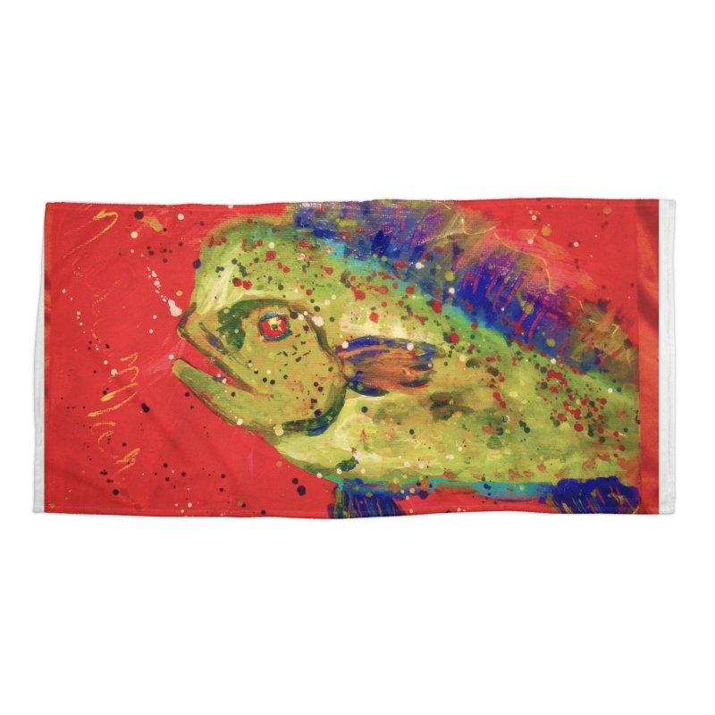 MAHI MAHI Accessories Beach Towel by designsbydana's Artist Shop