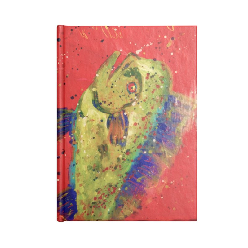 MAHI MAHI Accessories Lined Journal Notebook by designsbydana's Artist Shop