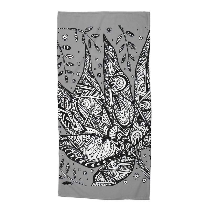 LEAF Accessories Beach Towel by designsbydana's Artist Shop