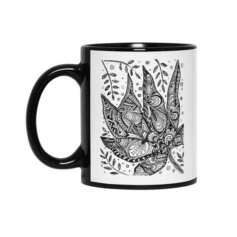LEAF Accessories Standard Mug by designsbydana's Artist Shop