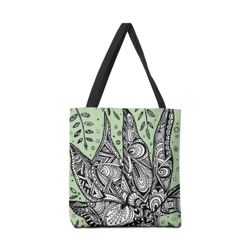 LEAF Accessories Tote Bag Bag by designsbydana's Artist Shop