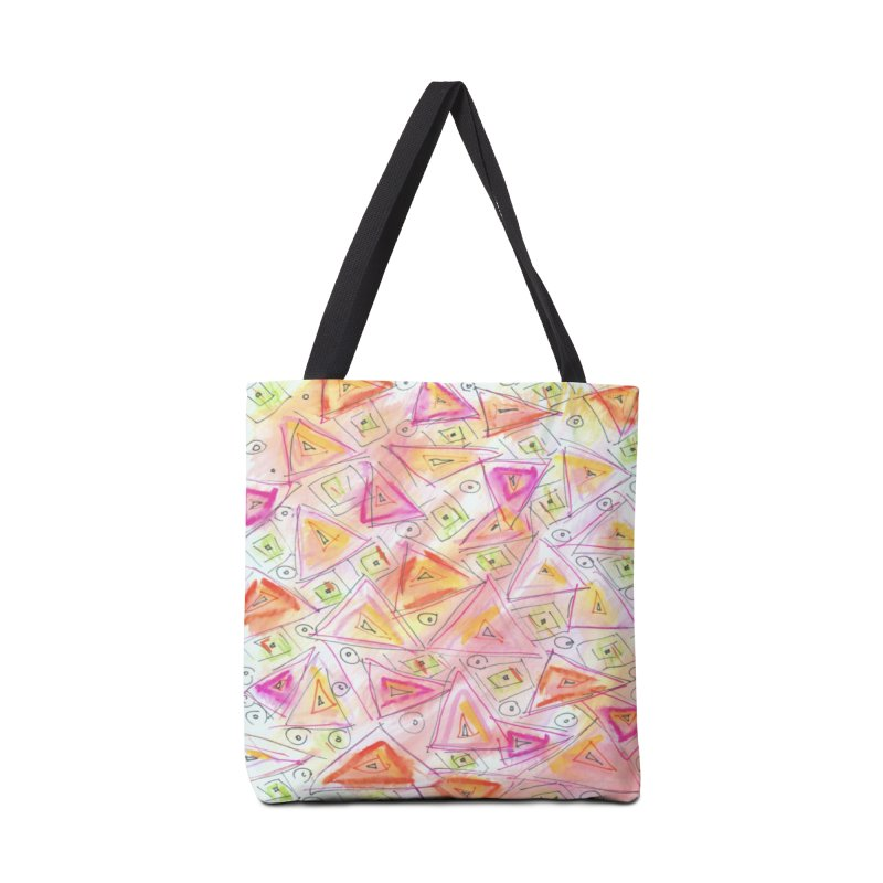 TRIANGLES Accessories Tote Bag Bag by designsbydana's Artist Shop