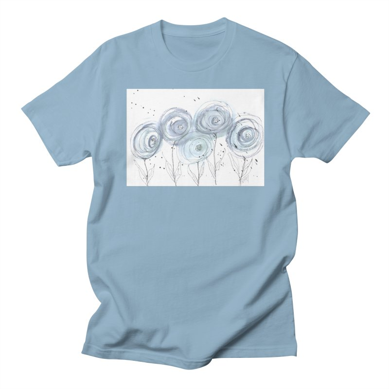 Circle Flowers Women's T-Shirt by designsbydana's Artist Shop
