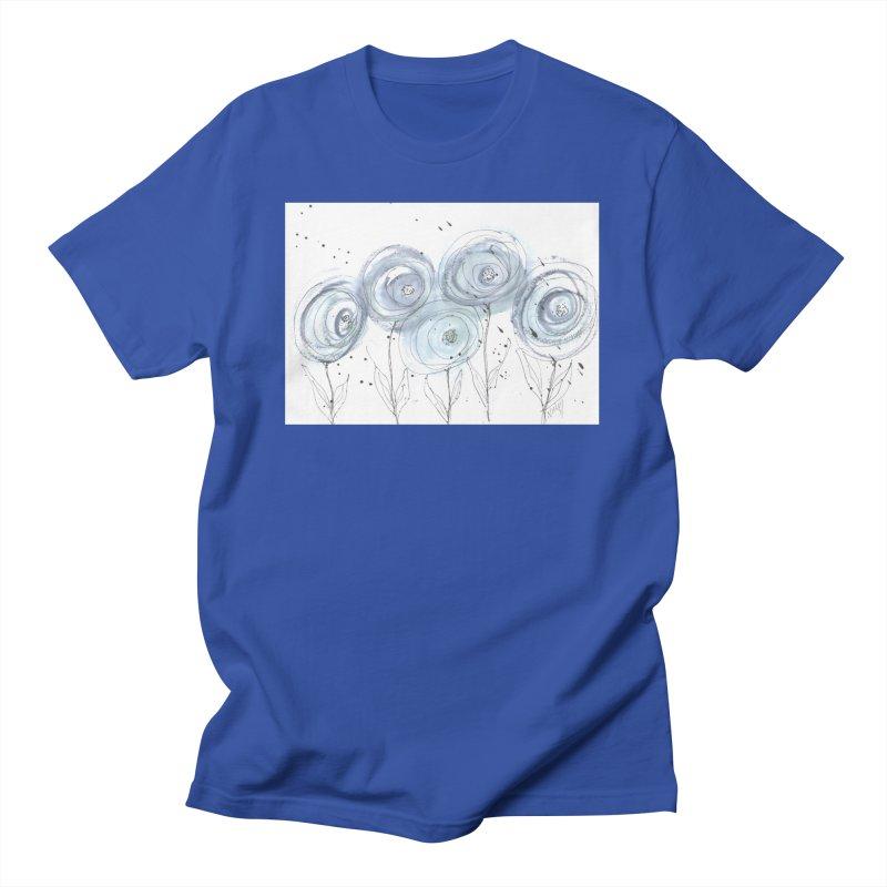 Circle Flowers Women's T-Shirt by designsbydana's Artist Shop
