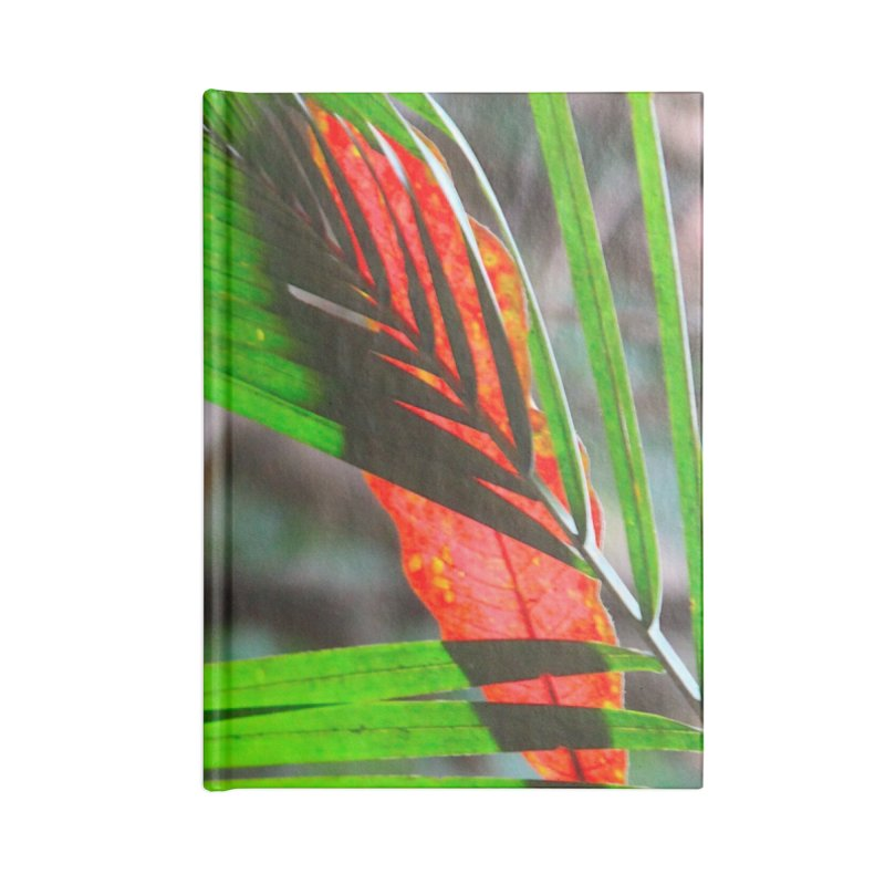 AMAZON LEAVES Accessories Lined Journal Notebook by designsbydana's Artist Shop