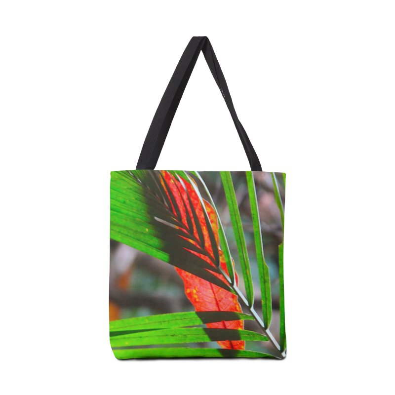 AMAZON LEAVES Accessories Tote Bag Bag by designsbydana's Artist Shop