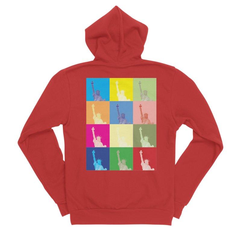 LIBERTY Women's Zip-Up Hoody by designsbydana's Artist Shop