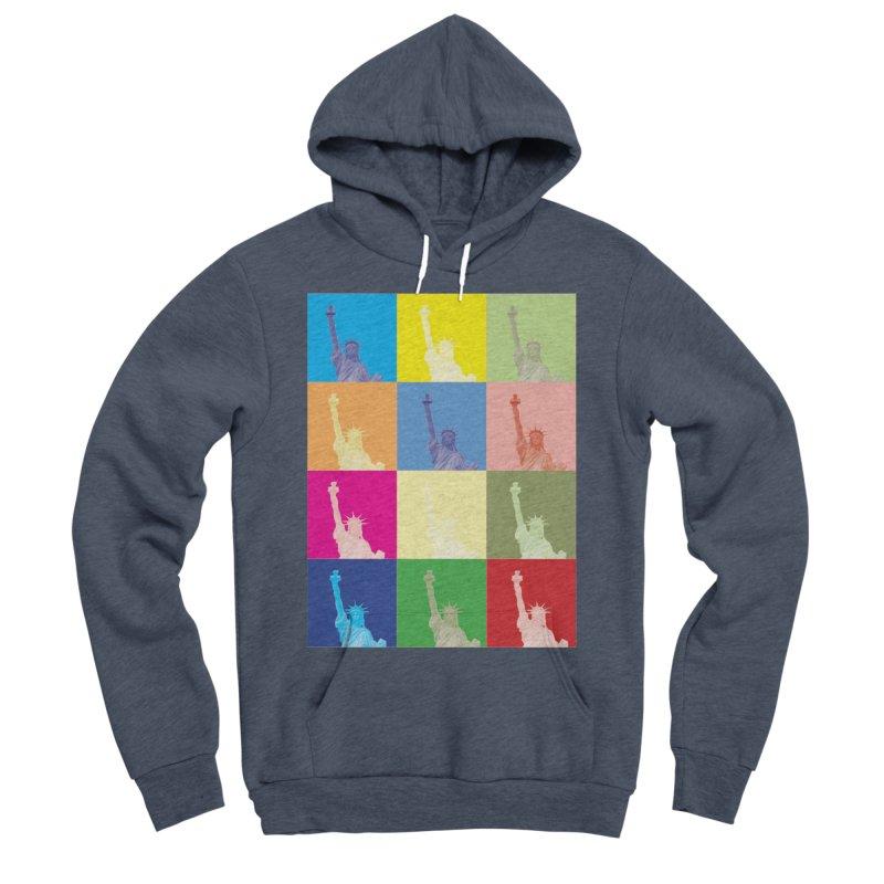 LIBERTY Women's Sponge Fleece Pullover Hoody by designsbydana's Artist Shop
