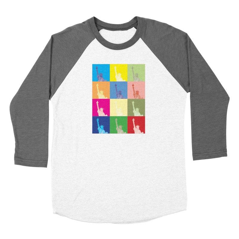 LIBERTY Women's Longsleeve T-Shirt by designsbydana's Artist Shop