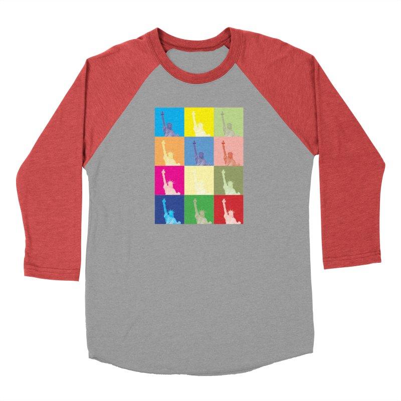 LIBERTY Men's Longsleeve T-Shirt by designsbydana's Artist Shop