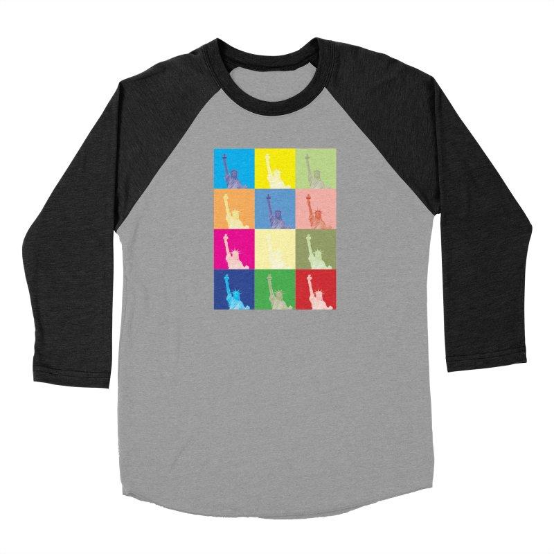 LIBERTY Men's Baseball Triblend Longsleeve T-Shirt by designsbydana's Artist Shop