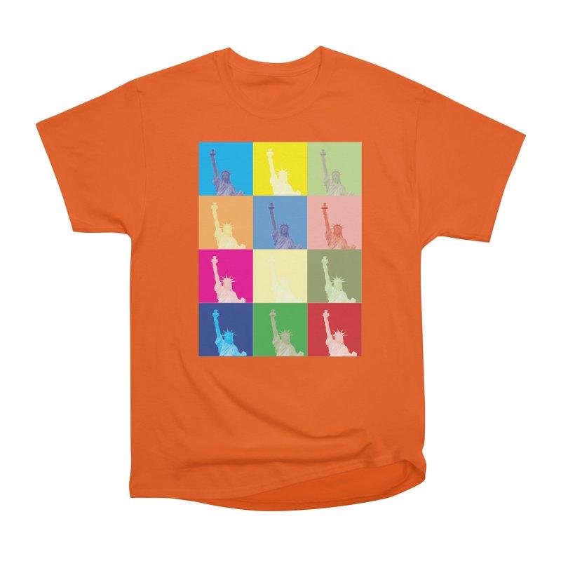 LIBERTY Men's T-Shirt by designsbydana's Artist Shop