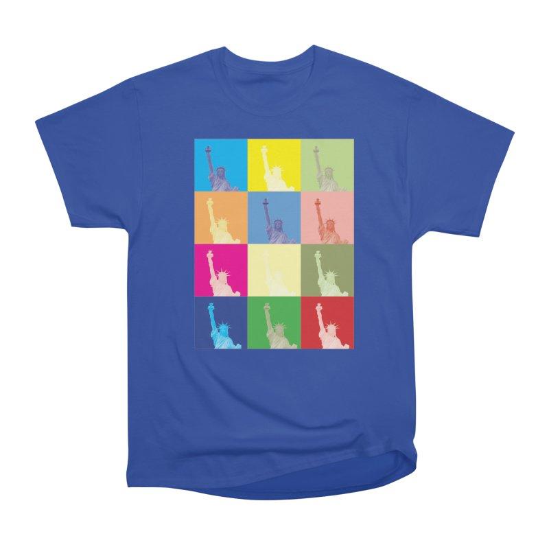 LIBERTY Men's Heavyweight T-Shirt by designsbydana's Artist Shop