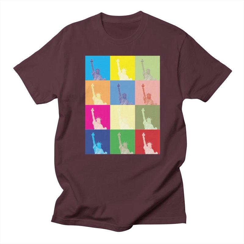 LIBERTY Women's Regular Unisex T-Shirt by designsbydana's Artist Shop