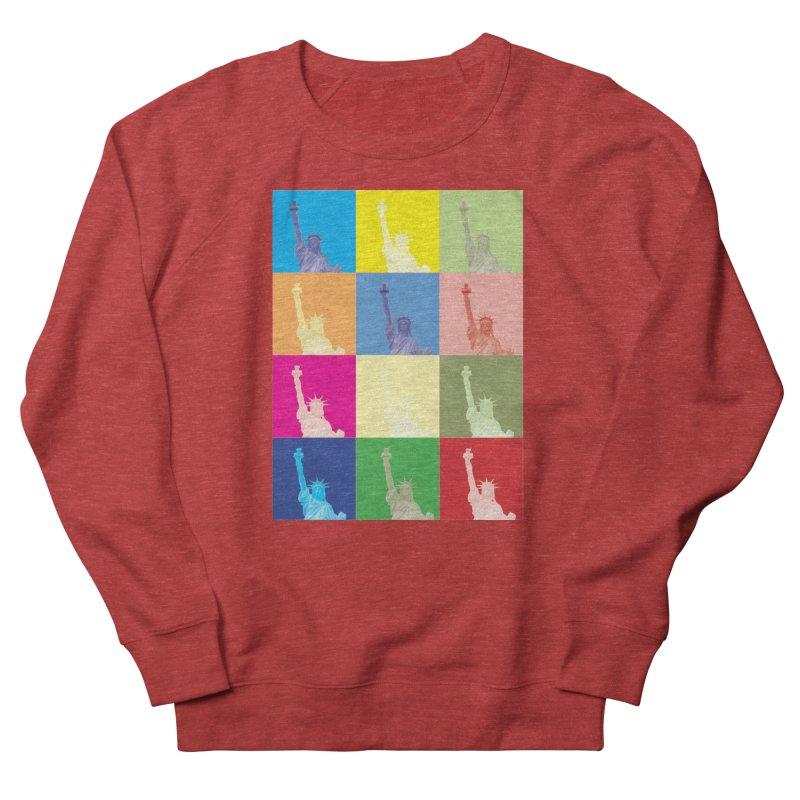 LIBERTY Women's French Terry Sweatshirt by designsbydana's Artist Shop