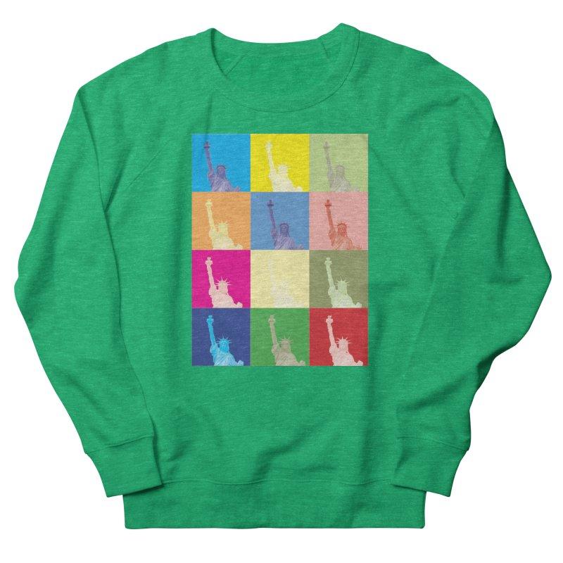 LIBERTY Men's Sweatshirt by designsbydana's Artist Shop