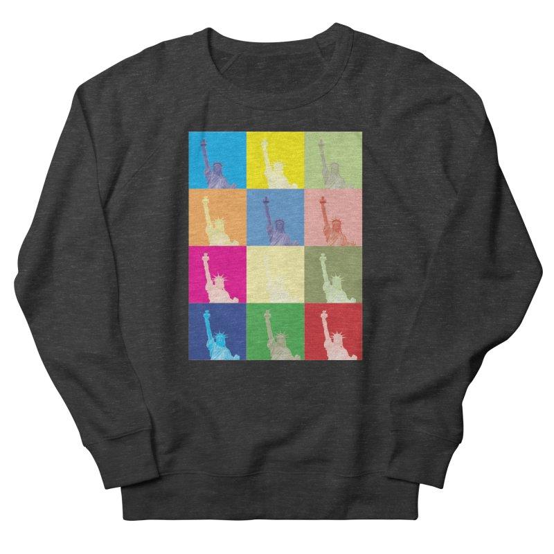 LIBERTY Men's French Terry Sweatshirt by designsbydana's Artist Shop