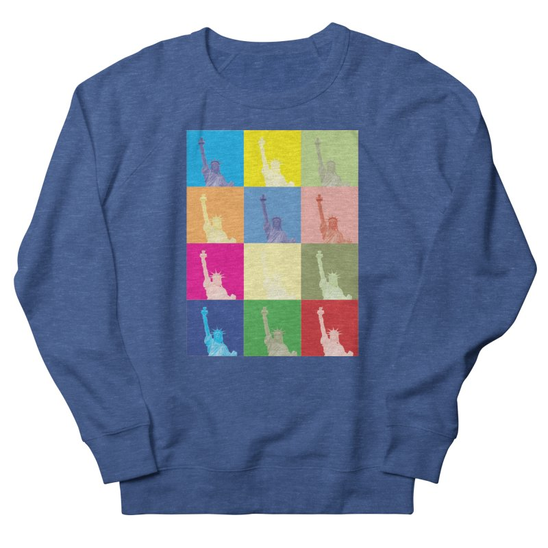 LIBERTY Men's Sweatshirt by designsbydana's Artist Shop