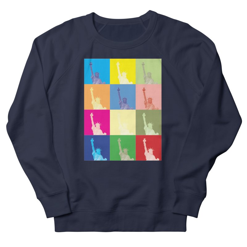 LIBERTY Men's French Terry Sweatshirt by designsbydana's Artist Shop
