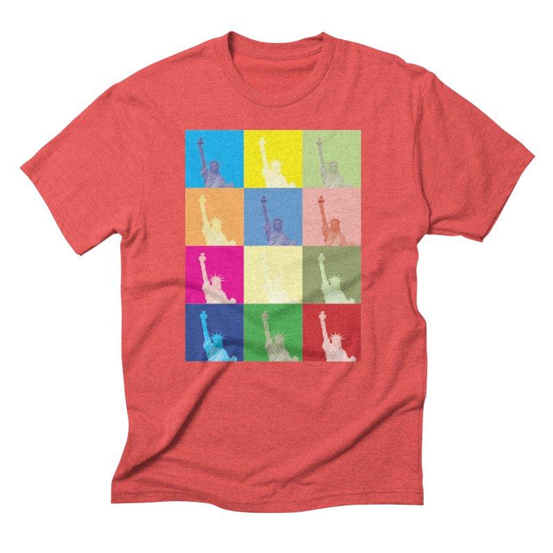 LIBERTY Men's Triblend T-Shirt by designsbydana's Artist Shop