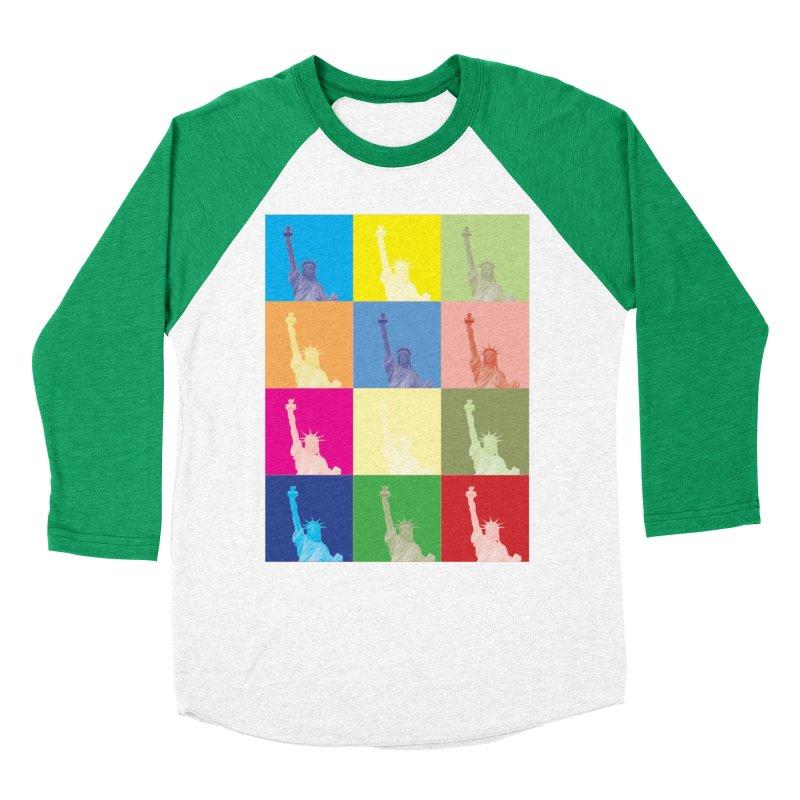 LIBERTY Women's Baseball Triblend Longsleeve T-Shirt by designsbydana's Artist Shop