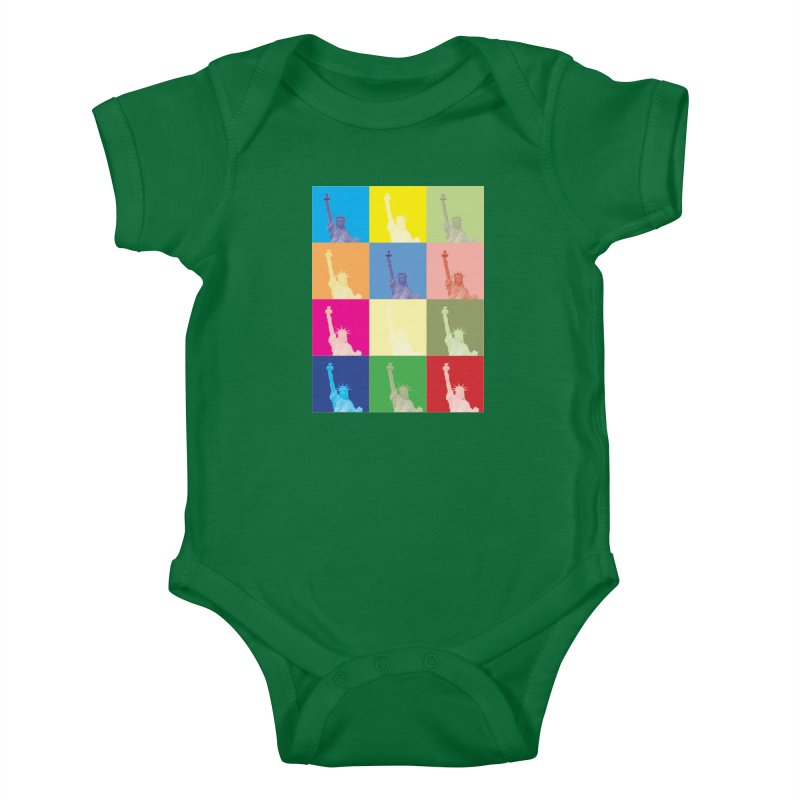 LIBERTY Kids Baby Bodysuit by designsbydana's Artist Shop