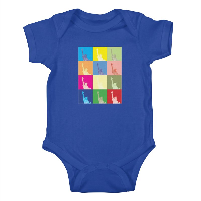 LIBERTY Kids Baby Bodysuit by designsbydana's Artist Shop