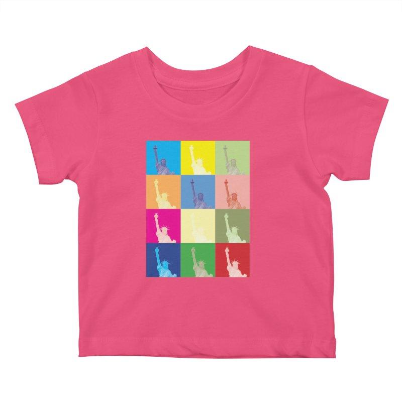 LIBERTY Kids Baby T-Shirt by designsbydana's Artist Shop