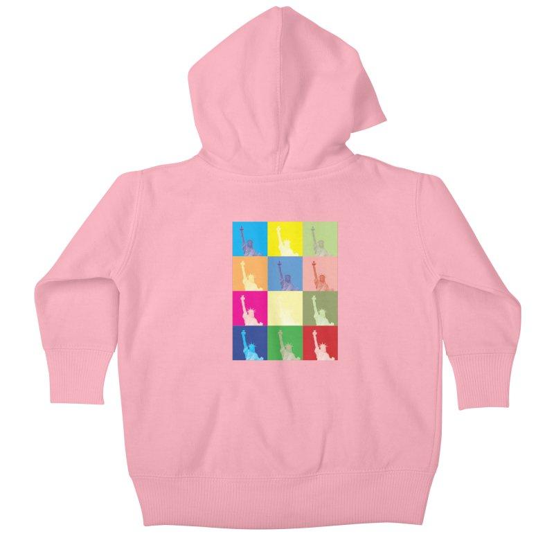 LIBERTY Kids Baby Zip-Up Hoody by designsbydana's Artist Shop